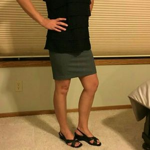 MAURICES • Gray Pencil Skirt    *NWT*